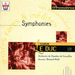 Le Duc - Symphonies