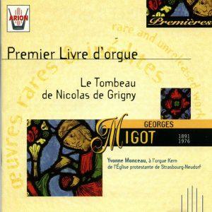 Migot - Le Tombeau de Nicolas de Grigny - 1er Livre d'orgue