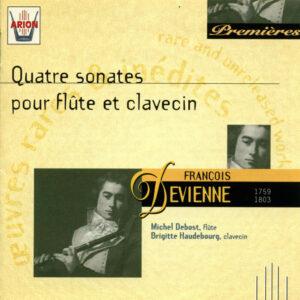 Devienne - Quatre Sonates pour Flûte & Clavecin
