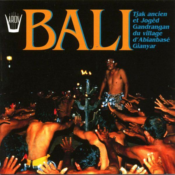 Bali - Tjak ancien et Joged Gandrangan du village d'Abianbase Gianyar