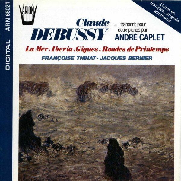 Debussy  - Transcrit pour 2 pianos par André Caplet