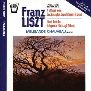 Liszt - Première Mondiale