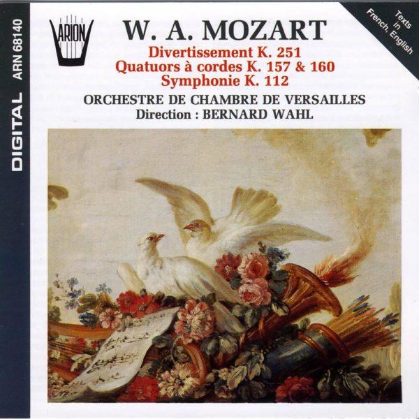 Mozart - Divertissement, Quatuor à Cordes & Symphonies