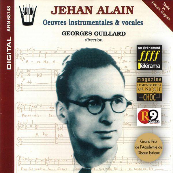 Jehan Alain - Œuvres Instrumentales & Vocales Vol.1