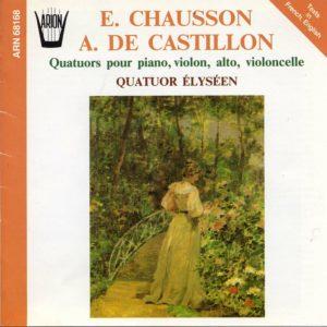 Quatuors pour Piano, Violon, Alto & Violoncelle