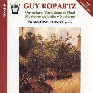 Ropartz - Ouverture, Variations et Final - Musiques au jardin - Nocturne