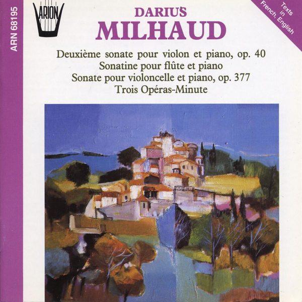 Milhaud - Sonates pour Piano