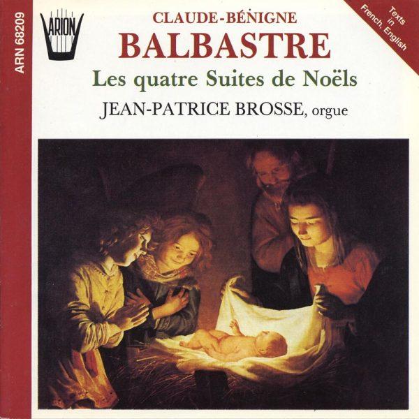Balbastre - Les Quatre Suites de Noëls