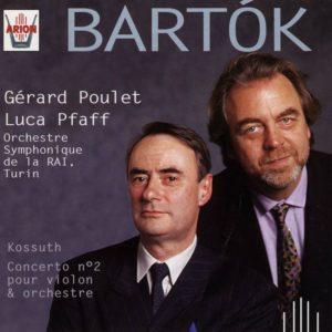 Bartok - Kossuth & Concerto N°2 pour violon & orchestre