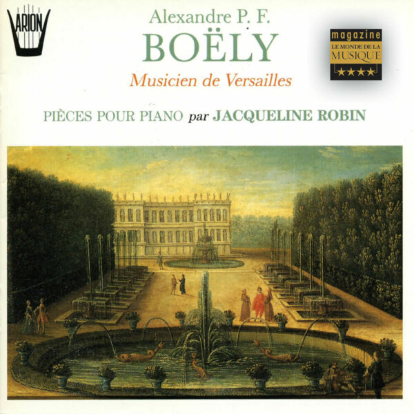 Boëly - Musicien de Versailles