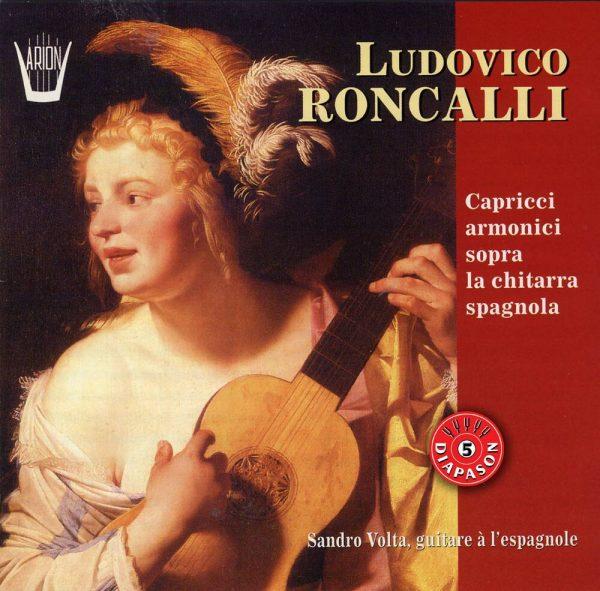 Roncalli - Caprices harmoniques sur guitare espagnole