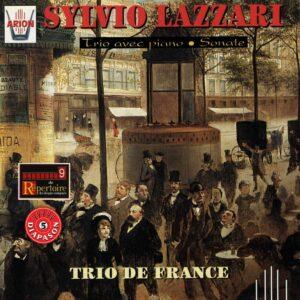 Lazzari - Trio avec piano Op. 13 et Sonate pour violon et piano Op. 24