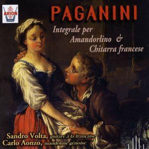 Paganini - Integrale per amandorlino & chitarra francese