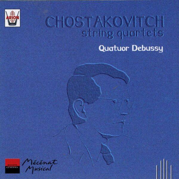 Chostakovitch - Quatuors à cordes N°4, 8 & 13 - Vol.1