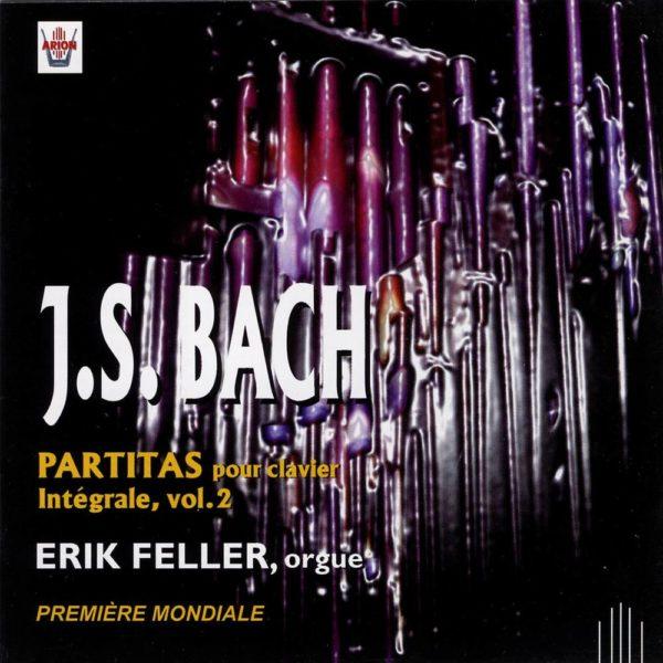 Bach J.S. - Partitas pour clavier - Intégrale Vol.2