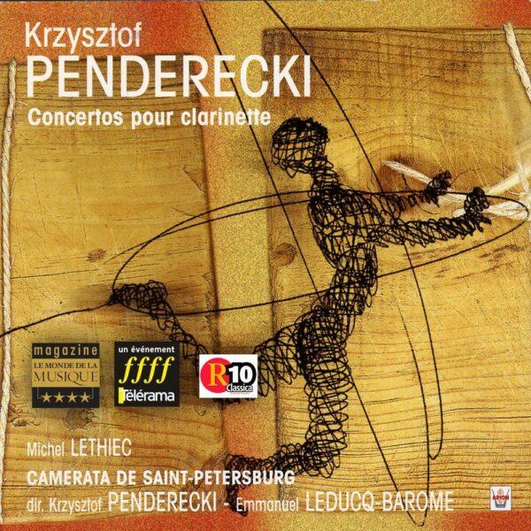 Penderecki - Concertos pour clarinette