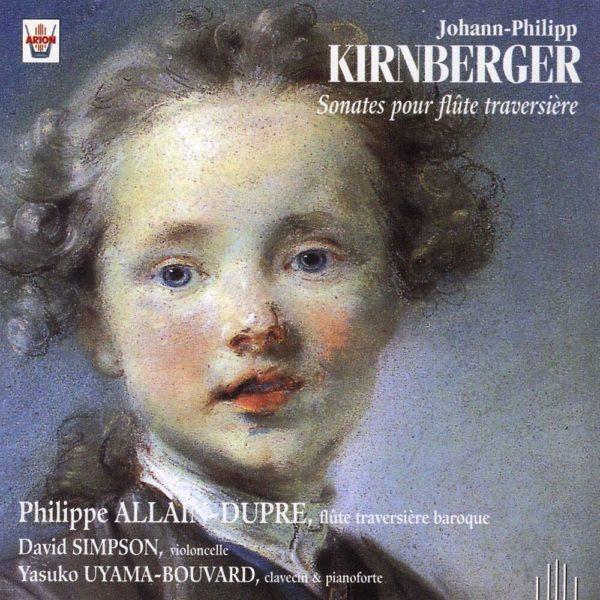 Kirnberger - Sonates pour flûte traversière