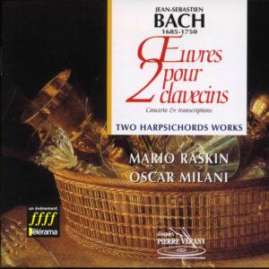Bach J.S. - Œuvres pour 2 clavecins - Concerto & Transcriptions