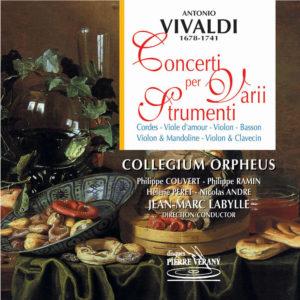 Vivaldi - Concerti per varii strumenti