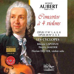 Auber - Concertos à quatre violons, Op. 17 & Op. 26