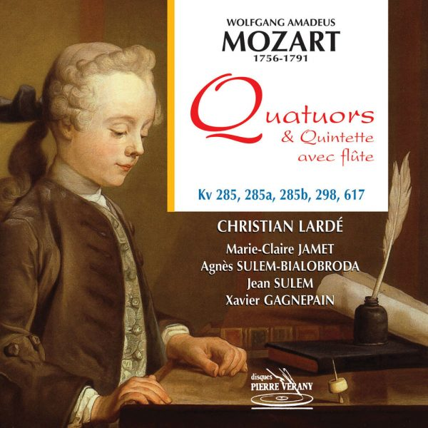 Mozart - Quatuor & Quintette avec flûte