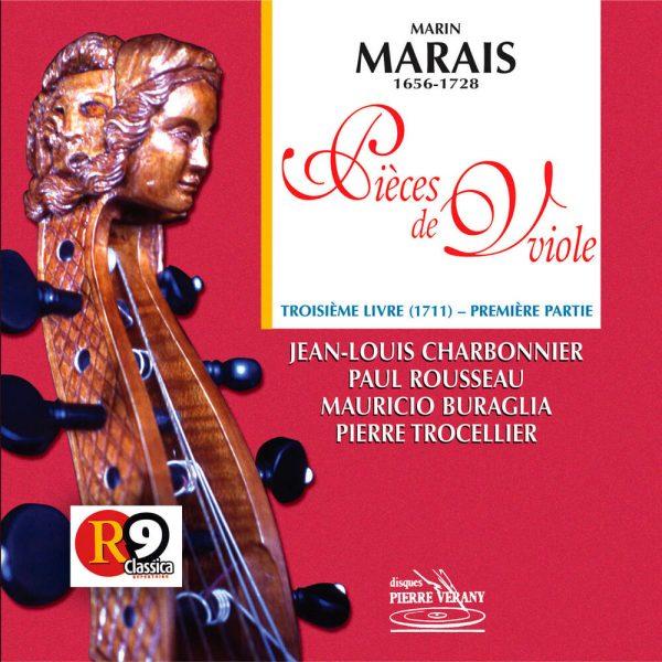 Marais - Pièces de viole - 3ème Livre (1711) - 1ère partie