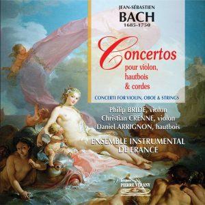 Bach J.S. - Concertos pour violon, hautbois & cordes