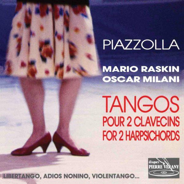Piazzolla - Tangos pour 2 clavecins Vol.1