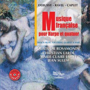Musique française pour harpe et quatuor