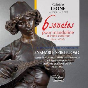 Leone - Six Sonates pour la mandoline et basse, Livre I