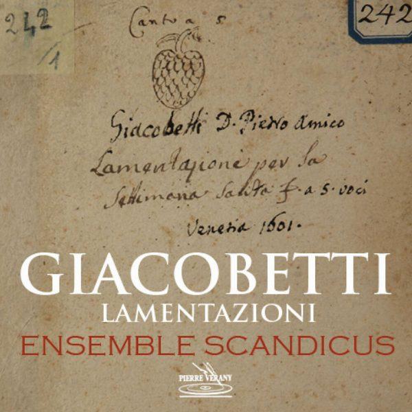 Giacobetti - Lamentazioni par la settimana Santa a 5 voci