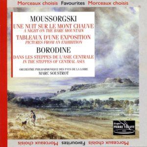 Mousorgski/Borodine - Une Nuit sur le Mont Chauve - Tableaux d'une Exposition - Dans les steppes d'Asie centrale