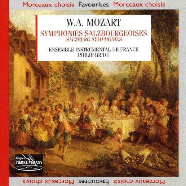 Mozart - Symphonies Salzbourgeoises