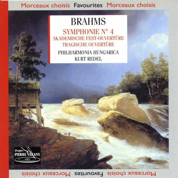 Brahms - Symphonie N°4 - Akademische Fest-Ouverture - Tragische Ouverture