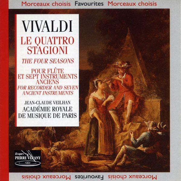 Vivaldi - Le Quattro Stagioni pour Flûte et Sept Instruments Anciens