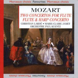 Mozart - Deux concertos pour flûte & harpe