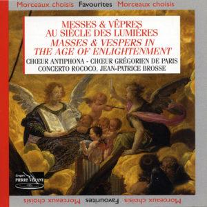 Messes & Vêpres au siècle des lumières