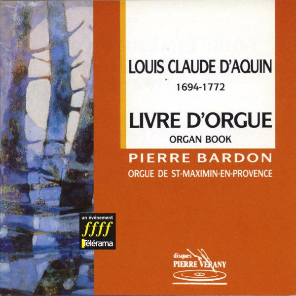 D'Aquin - Livre d'orgue