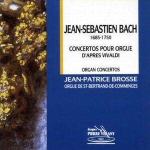 Bach J.S. - Concertos pour orgue d'après Vivaldi
