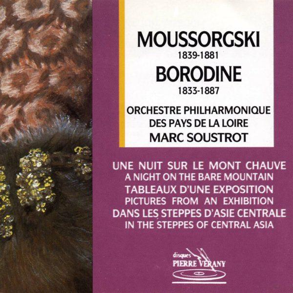 Mousorgski / Borodine - Une Nuit sur le Mont Chauve - Tableaux d'une Exposition - Dans les steppes d'Asie centrale