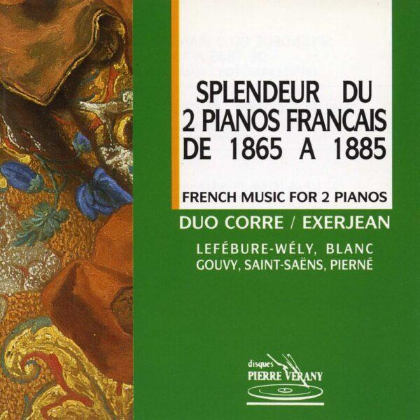 Splendeur du 2 pianos francais de 1865 à 1885