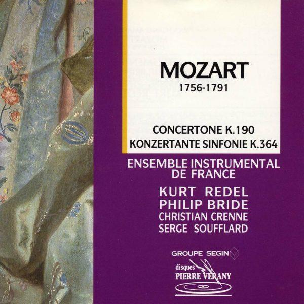 Mozart - Concertone, K 190 - Konzertante Sinfonie, K 364