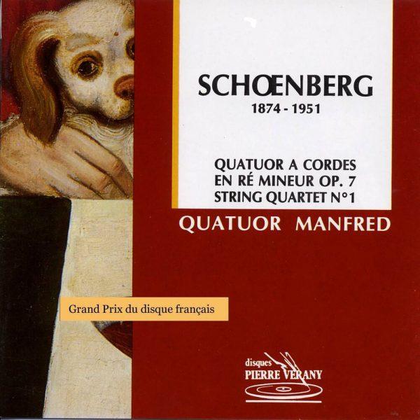 Schoënberg - Quatuor à cordes en ré mineur, Op.7