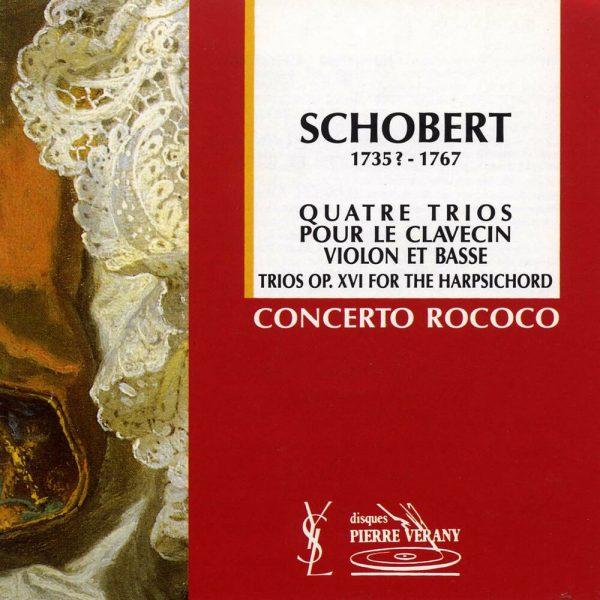 Schobert - 4 trios pour le clavecin, violon & basse