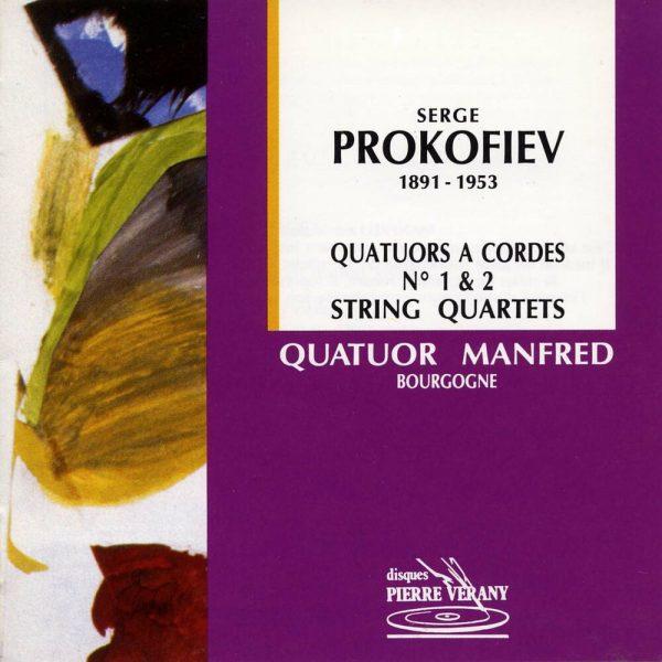 Prokofiev - Quatuors à cordes N°1 & 2