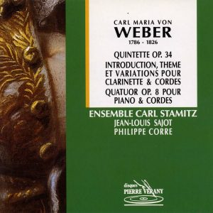 Weber - Quintette & Quatuor