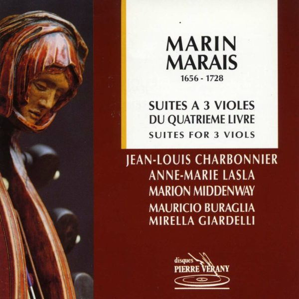 Marais - Suites à 3 violes du 4ème livre