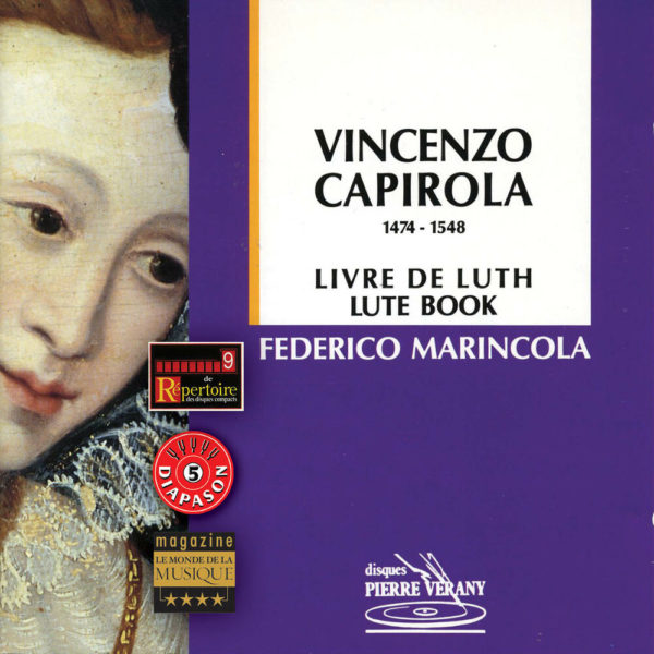 Capirola - Pièces de luth