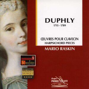 Duphly - Œuvres pour clavecin