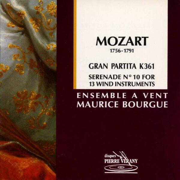 Mozart - Sérénade N°10 Gran Partita K361 pour 12 instruments à vent